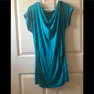 New York & Company Teal Dress Size Small